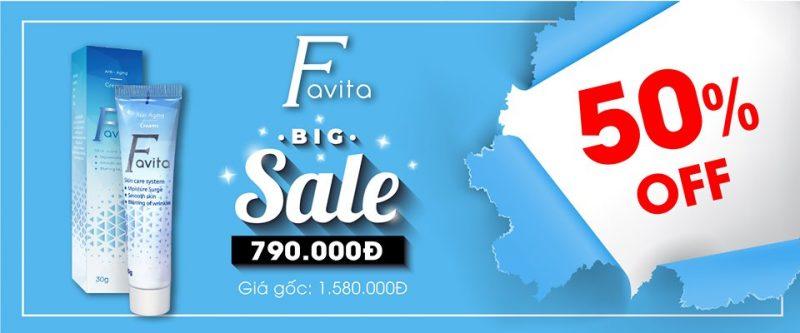 giá bán favita